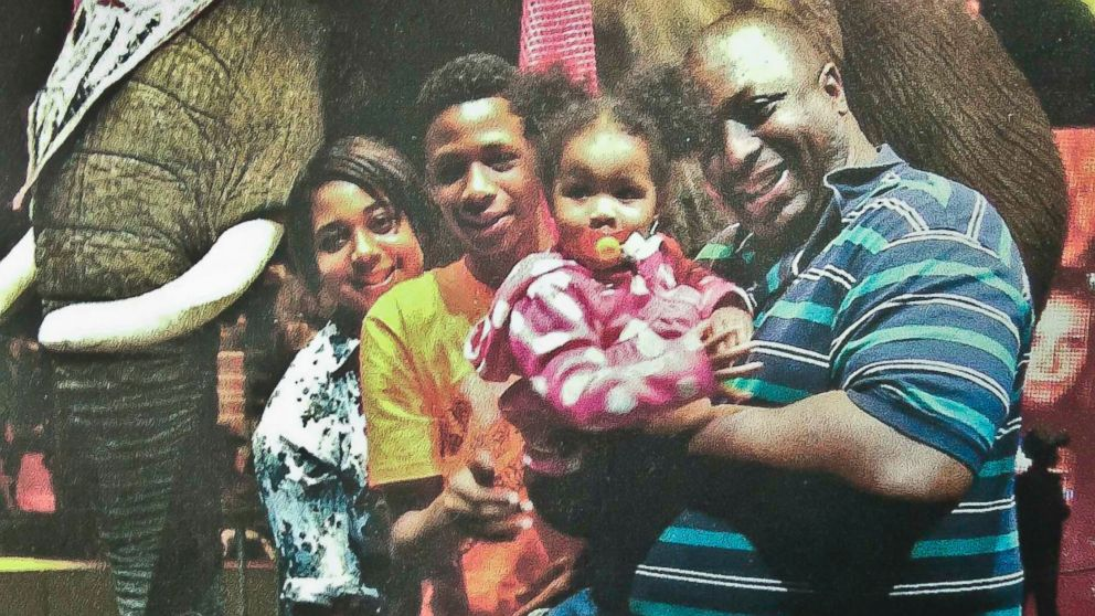 Eric Garner family- photo from AP.